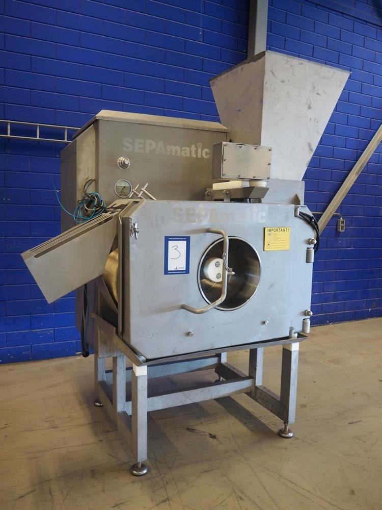 Sepamatic 4000 ST - Мясокостный сепаратор