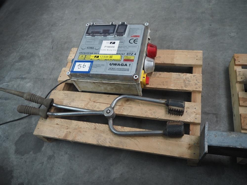 Устройство (Щипцы) электрического оглушения STZ-4