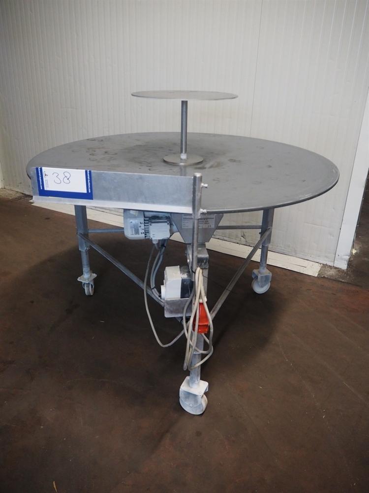 Мобильный круглый вращающийся накопительный стол Vanhemens bv