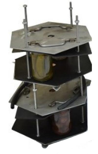 Комплект (из 2-х кассет) на автоклав 125 л - фото 55736